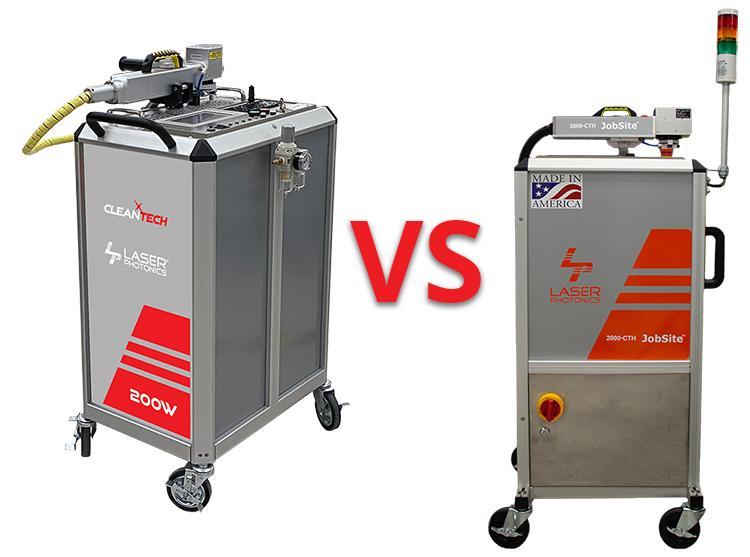 200 vs 2000 watt laser