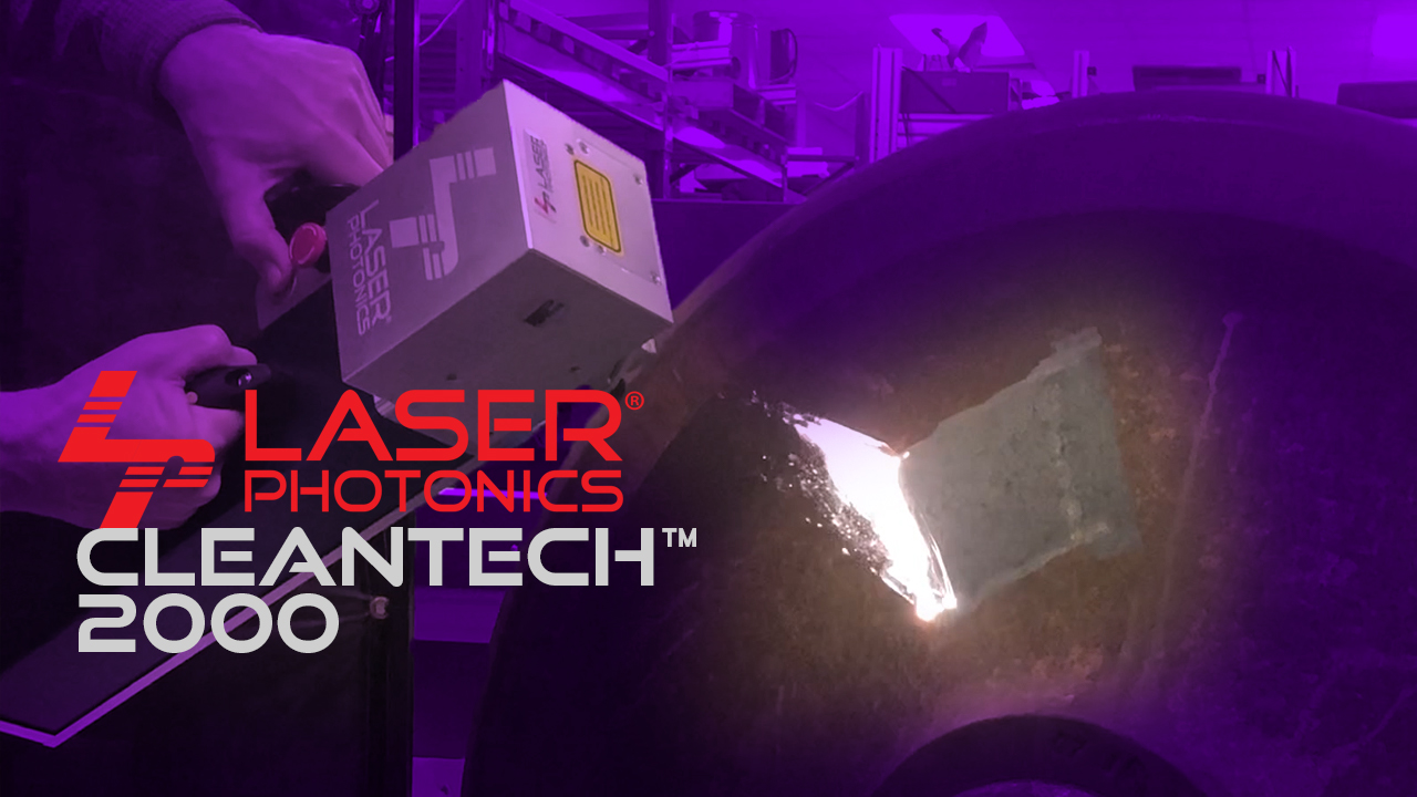 cleantech 2000w industrial laser cleaning system