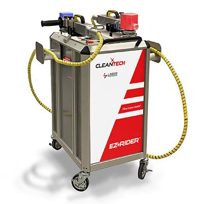 laser cleaning and finishing machine