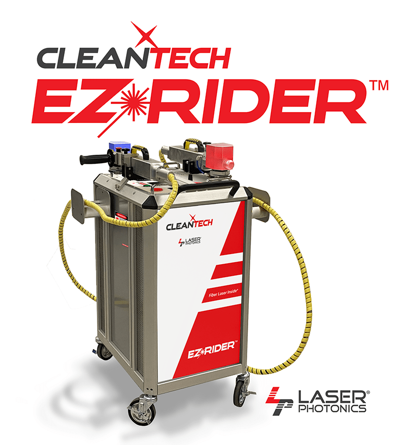 CleanTech ez-rider laser cleaning system
