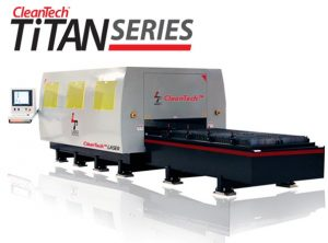 large format laser cleaning machine