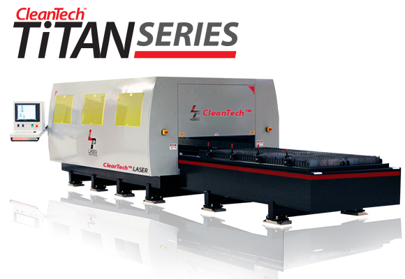 Laser Photonics CleanTech Titan Series large format high power laser surface preparation and laser cleaning system