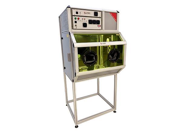 laser blaster cabinet