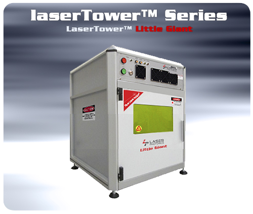 Laser tower giant 3d machine