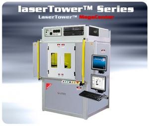 Laser tower 3D