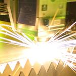 Titan Express Fiber Laser Cutter - fiber laser cutting highly reflective metal