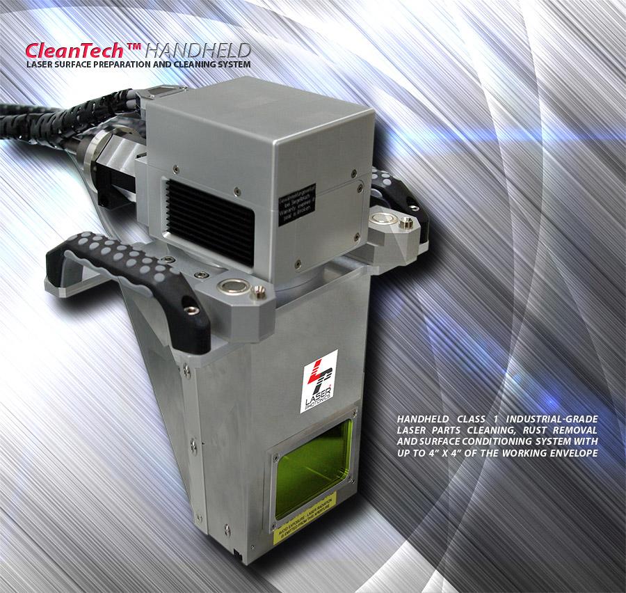 handheld laser cleaning system – laser ponics