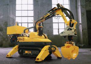 Brokk robot