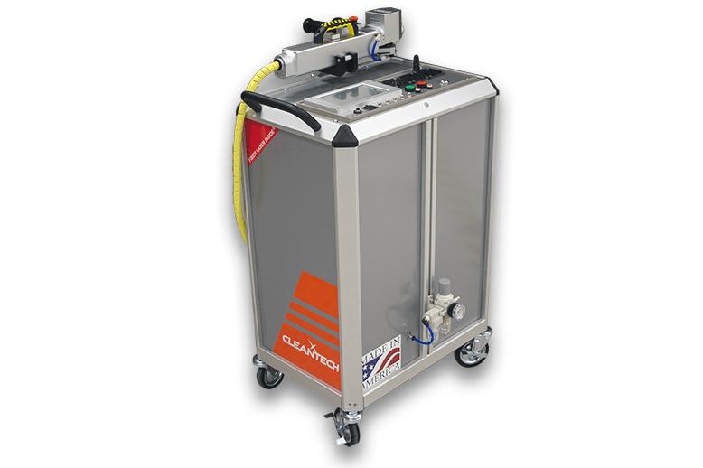100 watt handheld laser cleaning machine