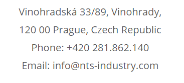 czech sales rep info