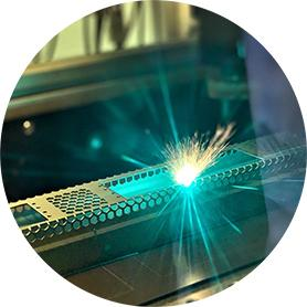 Laser cutting for space industry