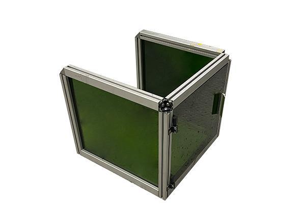 laser safety window