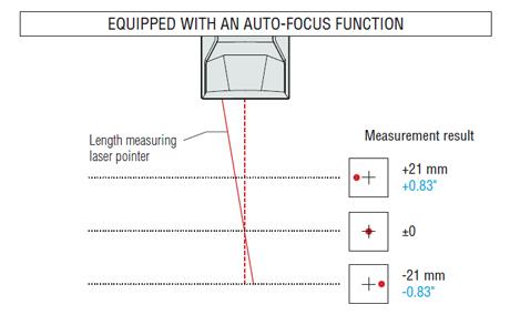 autofocus laser cutting head
