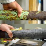 laser rust removal demonstration