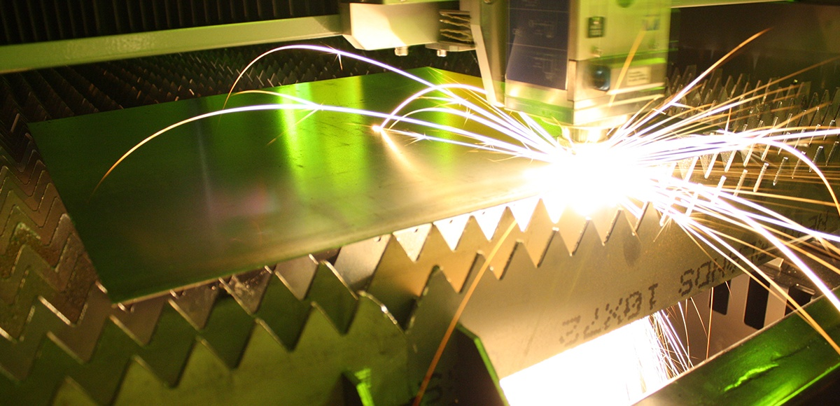 large format laser cutting