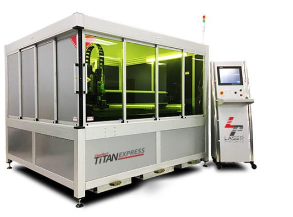 titan express laser cutting machine